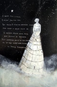 Emily Dickinson. Add poetry and book quotes to photos. Add brush effect too.