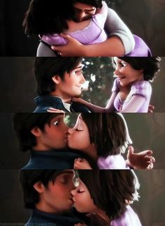 that moment when animated characters have a better love life than yours.   Still... loooove Tangled :)