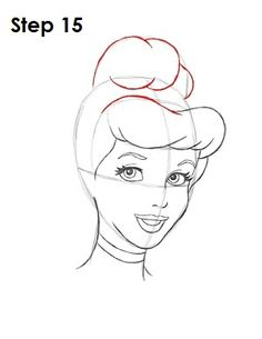 How to Draw Cinderella Great TUTORIAL... plus other characters.
