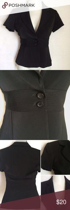 Spotted while shopping on Poshmark: WH | BM short sleeve blazer! #poshmark #fashion #shopping #style #White House Black Market #Jackets & Blazers