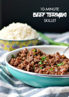 10 Minute Beef Teriyaki Skillet - My Recipe Magic