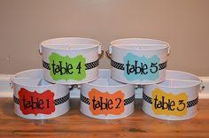 Table buckets to go on our shelves. Superhero Classroom Theme, Classroom Setting, Classroom Design, Future Classroom, Classroom Themes, Superhero Kindergarten, Superhero Ideas, Kindergarten Reading, Preschool Classroom