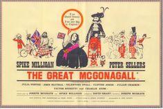 The Great McGonagall (1974) Stars: Spike Milligan, Peter Sellers, Julia Foster, John Bluthal, Victor Spinetti ~  Director: Joseph McGrath