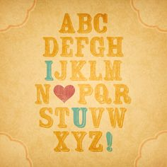 Perfect for teaching little kids the alphabet :)