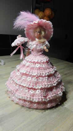 Barbiejurk 4 zelfgehaakt
