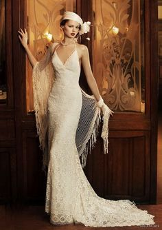 probably not for my shape, but stunning dress! (Gatsby inspired)