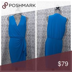 Ralph Lauren Dress Blue Plus 14 Ralph Lauren Dress Blue. Like new condition. Worn twice to weddings. Can be dressed up or casual. Please make an offer! You never know if you might catch me in a good mood! 😁 Dresses