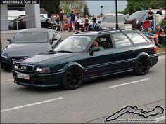 Audi 80 B4 Avant   Wörthersee Tour 2013 - www.woertherseepic…   Retro-Motoring & WoertherseePics   Flickr