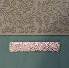 Liz Barnes on Jewelry and Supplies: Use in a rolling mill to texture metal or as a low relief pattern for metal clay