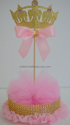 Items similar to Princess Baby Shower/ Princess Birthday/ First Birthday/ Baby/ Its a girl/ Princess party/ Pink and gold/ Centerpieces/ Baby girl shower on Etsy Baby Girl Shower Themes, Baby Shower Table, Boho Baby Shower, Girl Themes, Baby Girl Princess, Baby Shower Princess, Pink Princess, Princess Gifts, Baby Shower Centerpieces