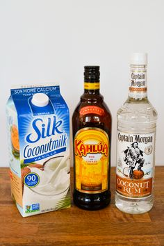 Coconut Rum cocktail recipe. Basically a white russian with coconut milk and coconut rum! So tasty! #StreamTeam
