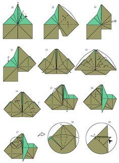 Yoda en origami 3                                                                                                                                                     Plus