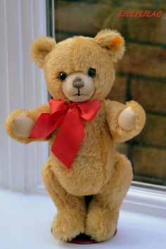 Steiff Golden Teddy Bear | Flickr - Photo Sharing!