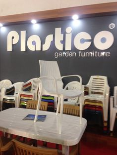 Plastico Arm Rattan Chair