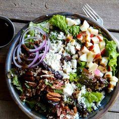 Apple, Pecan & Feta Green Salad by Alaska From Scratch