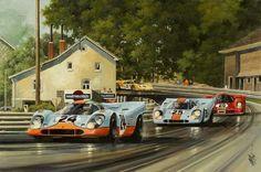 Portfolio - new Classic Motors, Classic Cars, Sport Cars, Race Cars, Automobile, Car Pictures, Car Pics, Car Drawings, Automotive Art