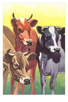 Cows as art