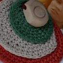 Colgantes de bisutería de tela - Bisutería textil - DaWanda