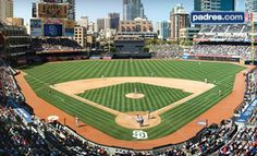 SAN DIEGO, CA - San Diego Padres – Petco Park  Weekend MLB Game on August 3, 5, 17, or 20 Against the Mets, Giants, or Pirates (Half Off). Two Seating Options Available.