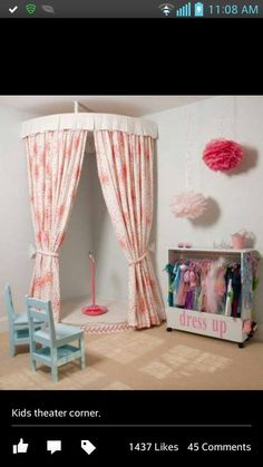 How cute would this be for a little girls room? Oh my!