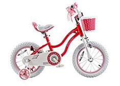 Check my review on RoyalBaby Stargirl BMX Girls Bike, 14 inch in Pink with Basket and Training Wheels for 3 to 5 Year Old Girls.  Click on https://amzn.to/2IoIhgn to buy.