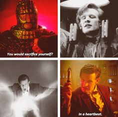 DW - The Doctor has sacrificed so much already, and yet he would do it again without question to help save humanity one last time.
