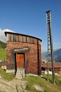 Zumthor's St. Benedict Chapel Analysis Architecture
