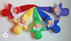 Polar Bear Creations Dolls  <3 Rainbow Gnomies