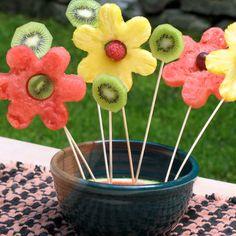 Fun Kids Recipe -- Fruit Flower Bouquet | Spoonful