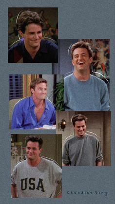 Chandler looked so good in the first few seasons. Chandler Friends, Tv: Friends, Friends Scenes, Friends Episodes, Friends Cast, Friends Moments, Friends Forever, Matthew Perry, Estilo Rachel Green