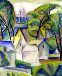 Provincetown - William Zorach (1887-1968)