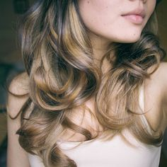 Layers Hair Salon - Balayage/ombre highlights done by my amazing stylist KEN! Thank you Ken! :) - New York, NY, United States