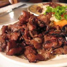 Cambodian caramelized pepper pork (khor mrech saich chrouk) | All About Cuisines