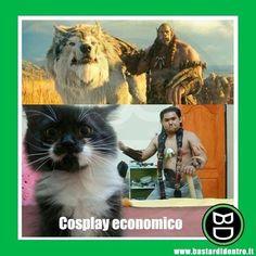 #cosplay economico #bastardidentro #ipnoticamentebastardidentro www.bastardidentro.it