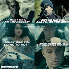 Vin Diesel Stills @vindieselgallery - Some Furious Seven on #fa...Yooying