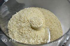 Más allá del gluten...: Tahini - Pasta de Ajonjolí / Sésamo (Receta SCD, GFCFSF, Vegana, RAW)