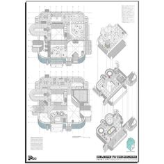 An awesome Virtual Reality pic! P04  #pokearquitectura #randomPFC #architecture #archigram #drawing #design #arquitectura #dibujo #VR #virtualreality #videogames #model #maqueta #3dprinting by carlos_garcfern check us out: http://bit.ly/1KyLetq
