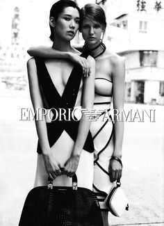 Tao Okamoto, Kendra Spears & Wang Xiao for Emporio Armani Spring 2012 Campaign   Fashion Gone Rogue: The Latest in Editorials and Campaigns