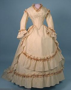 1860s gown