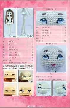 ojos tejidos en crochet ile ilgili görsel sonucu