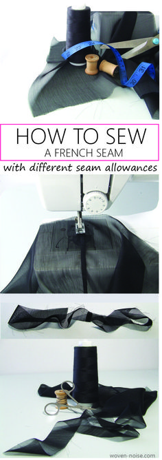 How To Sew A French Seam - Video