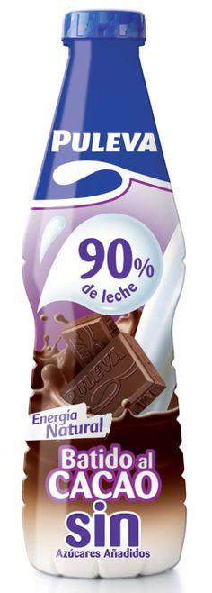 Batido al Cacao sin azúcares añadidos 90% leche Puleva (Supersol) - 1 vaso 2 puntos.