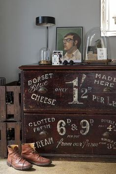 The West End Dairies cupboard. Photographed by Ben Anders