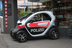 Auch die Polizei ist elektrisch unterwegs...zumindest in Bülach.