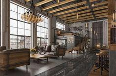 Luxury living room interior design style