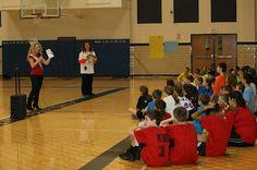 Miss Teen International 2011, Jurnee Carr spoke at an American Heart Association Hoops for Heart event!