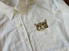 Camicia con gatto - Questo piccolo grande BANZAI