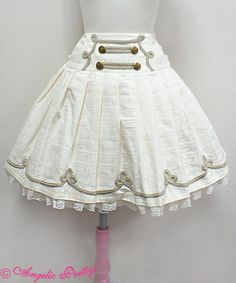 Angelic Pretty Melty Whip Chocolate Skirt