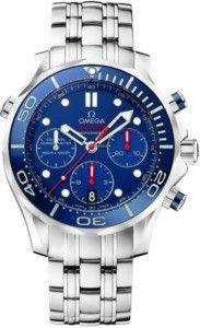 Seamaster Omega Diver Cronografo in acciaio