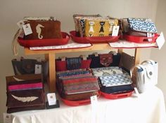 Image result for how to display handbags at a craft fair